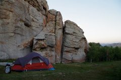 Rock Climbing Photo: Artisan Wall camp