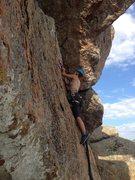 Rock Climbing Photo: Cruisin' the bathook NBD