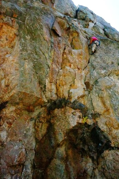 Rock Climbing Photo: Awesome route!!!