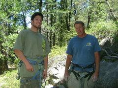 Rock Climbing Photo: Lucas & me