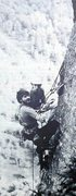 Rock Climbing Photo: Ed Webster and Henry Barber on the FFA of Women in...