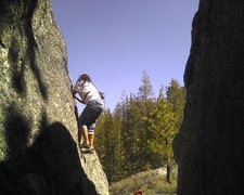 Rock Climbing Photo: rainbow boulders