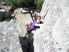 Rock Climbing Photo: grandson Gabe