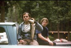 Rock Climbing Photo: Big Wally (Mike Borris) still an awesome fisherman...