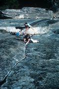 Rock Climbing Photo: Diegelman leading Butterballs, with Augie Klien & ...