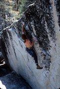 Rock Climbing Photo: meadows bouldering