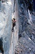 Rock Climbing Photo: Big Wally in action