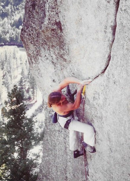 Rock Climbing Photo: gettin serious
