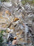 Rock Climbing Photo: Ethan Vella, just before the crux of Breaking Thro...