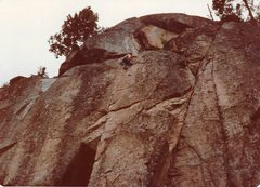 Rock Climbing Photo: Sentry Box