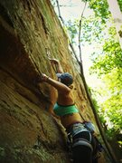 Rock Climbing Photo: Climbing at the new Kurt Russel wall