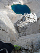 Rock Climbing Photo: East buttress P11 corner