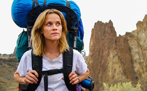 Based on the size of her pack, I'm guessing Reece Witherspoon is headed to Mendenhall Ridge, or perhaps she's planning to bivy in the West Face Cave of the Monkey.