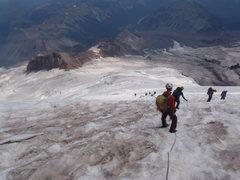 Descending the Emmons
