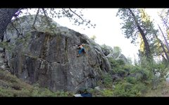 FA- Nick Muehlhausen <br />Riding around and lichen it- V8