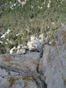 Rock Climbing Photo: View of the buttress