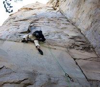 Rock Climbing Photo: Thank Ala for edges!