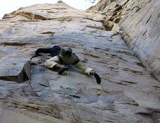 Rock Climbing Photo: All those itty-bitty edges!