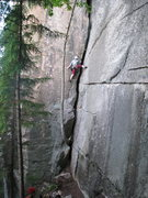 Rock Climbing Photo: Amy S and Rob A on Jolly Green Giant
