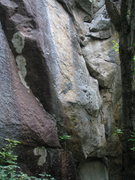 Rock Climbing Photo: This has to be the start of an old route. Anybody?...