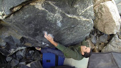 Rock Climbing Photo: Abner Albino on the second ascent of Black Ness Mo...