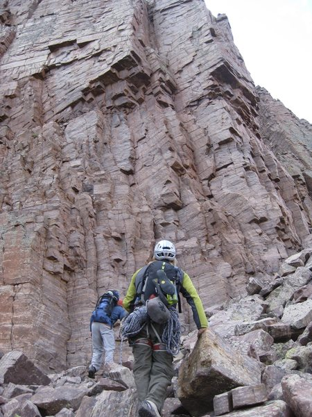 Rock Climbing Photo: Almost climbed this corner system but it didn't se...
