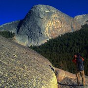 Rock Climbing Photo: A photo or two,  in which to look through,  atop t...