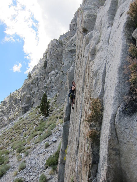 Rock Climbing Photo: Jason sending