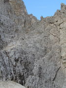 Rock Climbing Photo: Temperature was far from ideal, and second party r...