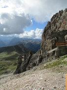 Rock Climbing Photo: Gondola station at Langkofelscharte.