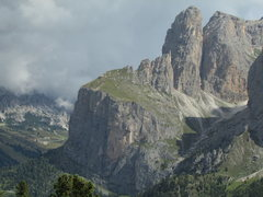 Rock Climbing Photo: Northern Outpost of the Sella Group, East from Sel...