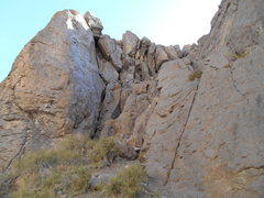 Rock Climbing Photo: The Big Tower, Lower Owens River Gorge, June 1, 20...