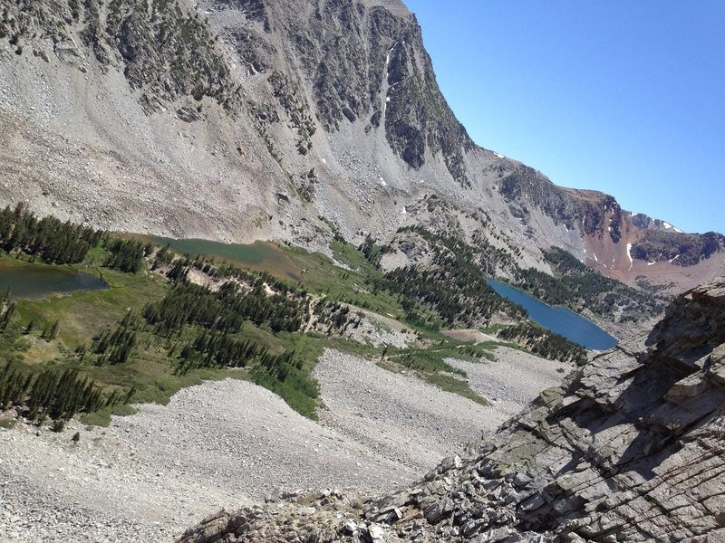 Crystal Lake by Tioga Crest, July 4, 2014