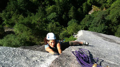 Rock Climbing Photo: Blazing Saddles, Squamish, BC