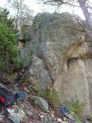 Rock Climbing Photo: The climb.