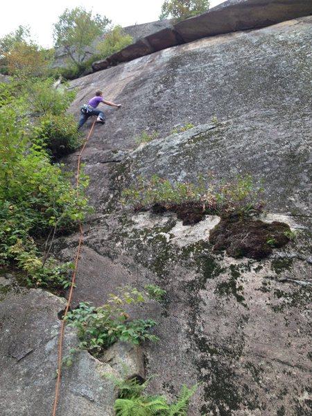 Rock Climbing Photo: P.Blanchette