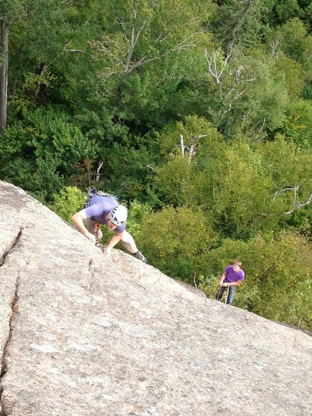 Rock Climbing Photo: Luc Monod dans Bohème