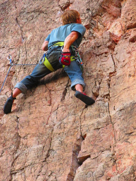 Rock Climbing Photo: Shelf Road.