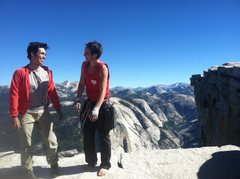 Rock Climbing Photo: After completing the El Cap / Half-Dome link-up.  ...