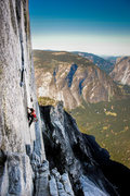Rock Climbing Photo: Training run up Half-Dome to rehearse movement, ge...