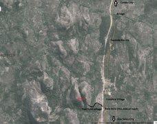 Rock Climbing Photo: Rough trail map.