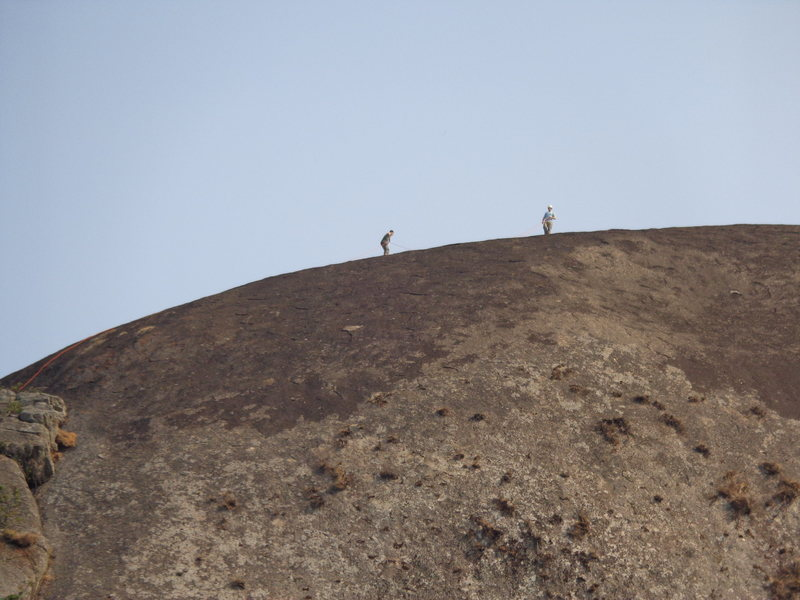 "Rock Climbing Photo: ""Ropework"" on the second ascent..."