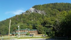 Rock Climbing Photo: From the parking area across the road .... Inn of ...