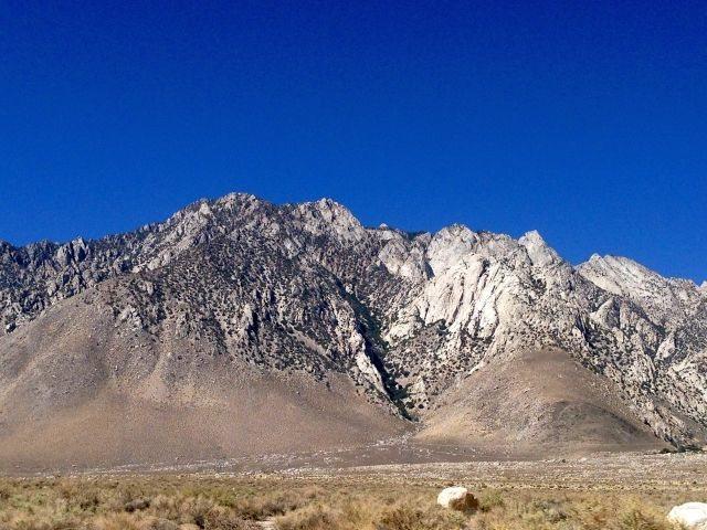 Olancha Crags (aka Crystal Geyser Crags), Sierra Eastside