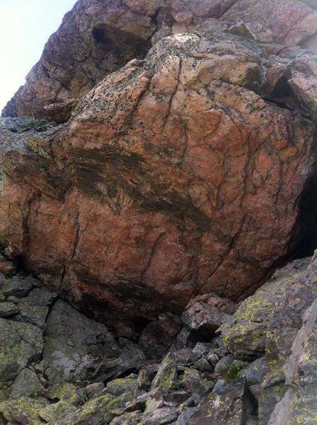 Mars Boulder.