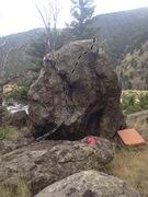Rock Climbing Photo: Sconnie route