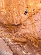 Rock Climbing Photo: just hanging