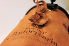 Rock Climbing Photo: Nicaraguan leather rum bag