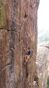 Rock Climbing Photo: Jordon Griffler on Grand Ol Opry.  The Monastery. ...