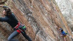 Rock Climbing Photo: Jordon Griffler on Grand Ol Opry.  The Monastery. ...